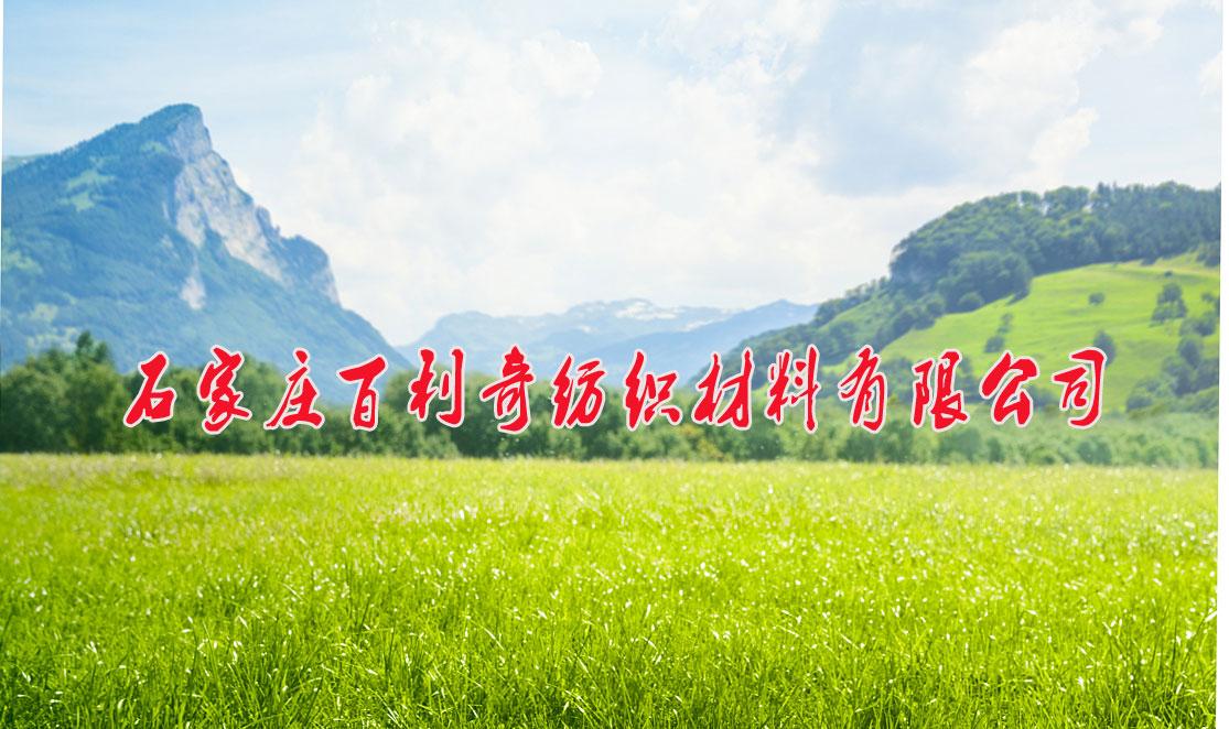 石家庄百利奇纺织材料有限公司 建设年产500万米高档纺织坯布项目水土保持设施验收材料公示